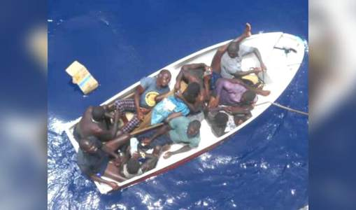 Rescue of 10 Hondurans who drowned in the Caribbean for 9 days