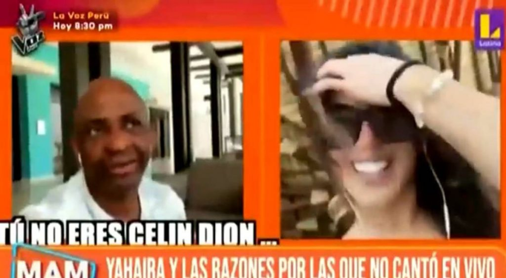 """Sergio Jorge to Yahaira Plasencia for his use of play at the Heat Awards: """"You are not Céline Dion"""""""