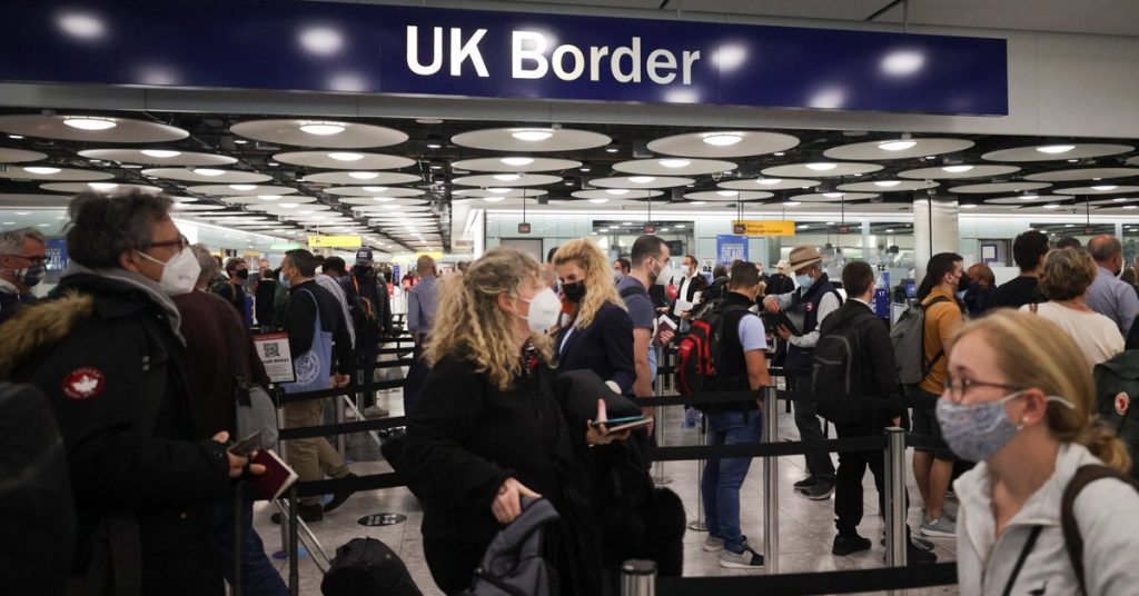 """The United States has issued a """"do not travel"""" recommendation to the United Kingdom due to an increase in COVID-19 cases"""