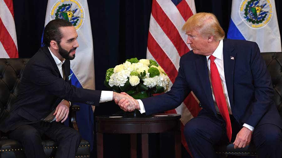 """Video: Trump calls the leaders of El Salvador, Honduras and Guatemala """"dictators"""""""