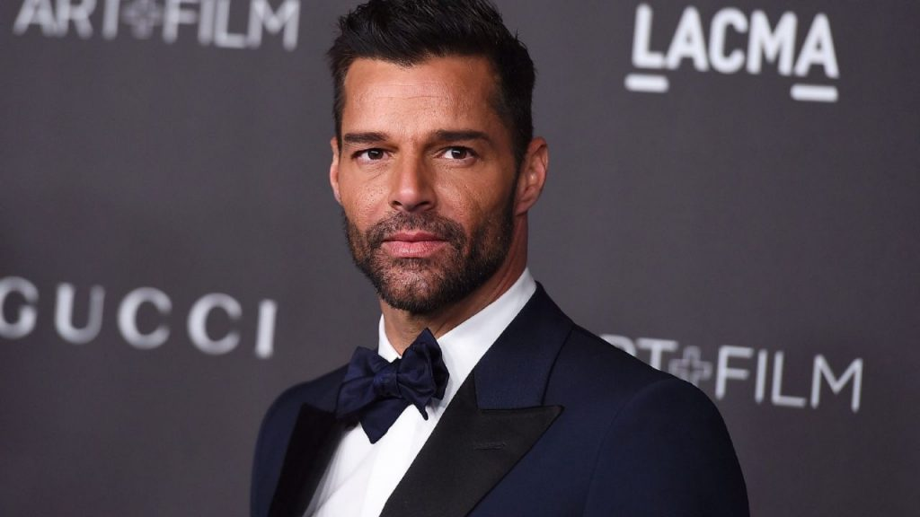 What methods did Ricky Martin choose to start his family with her husband?
