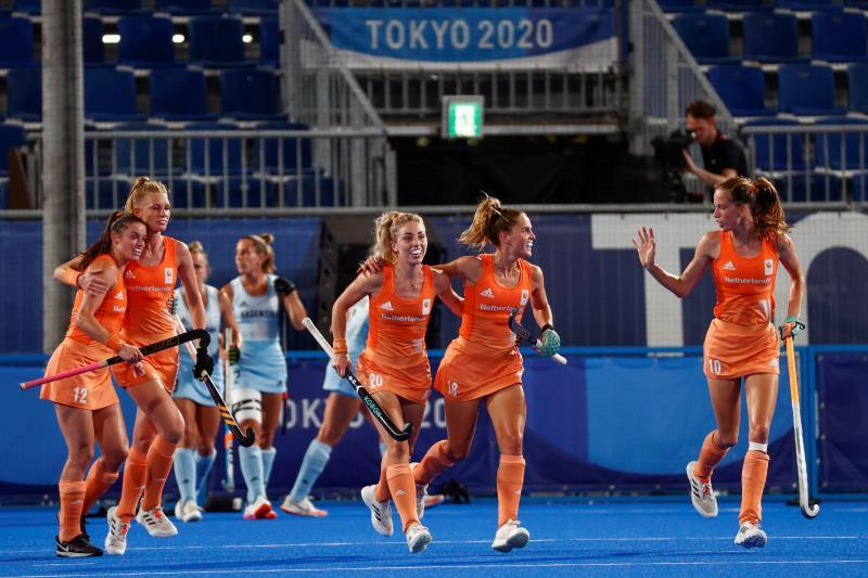 Las Leonas can't beat the Netherlands and get the silver medal at the Tokyo Games