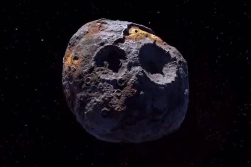 Confirm that the asteroid Psyche is more valuable than the entire economy of Earth