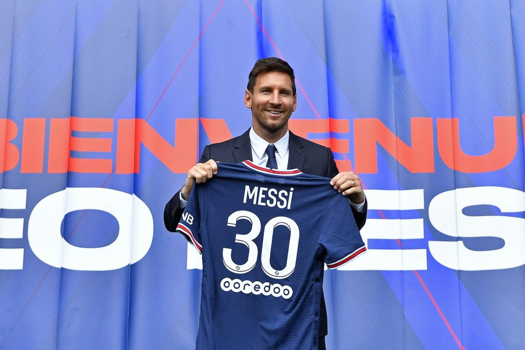 Messi will play with the number 30;  He says he is hungry to win titles at PSG