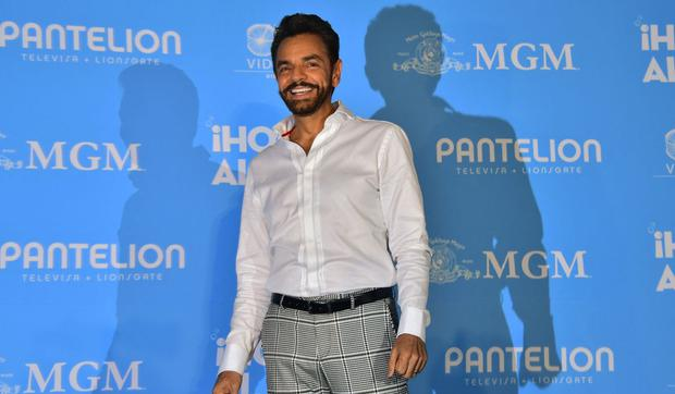 Eugenio Derbez noted that working with the deaf has taught him a lot to appreciate everyone.  (Photo: Pedro Pardo/AFP)