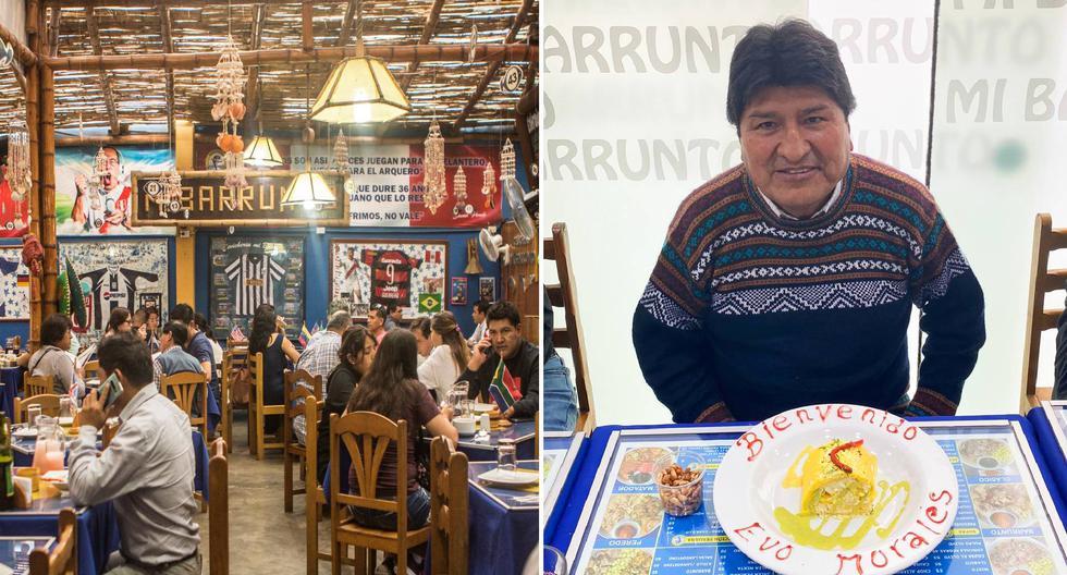 Evo Morales in Lima    Mi Baronto: the cebichería cult where footballers, singers and Evo Morales sit    gastronomy    ceviche    victory    Lima Alliance    Pedro Castle    be