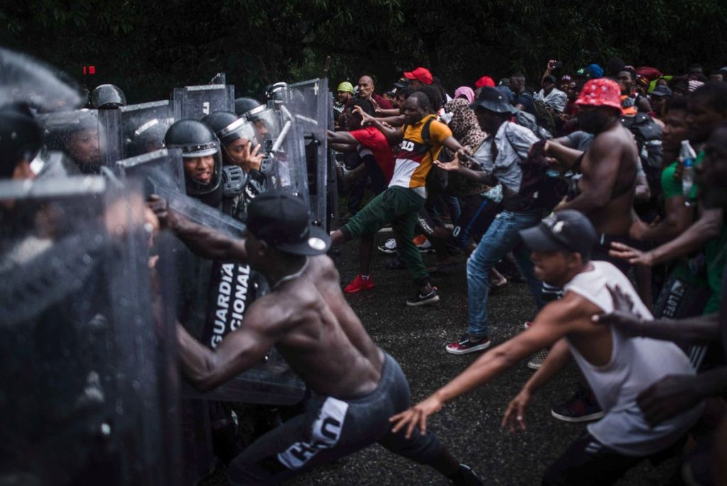 Immigrants revolted in Tapasula
