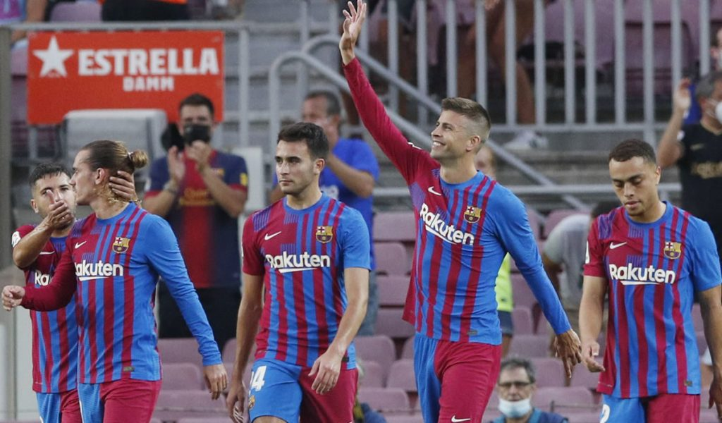 Barcelona vs Real Sociedad match.  Summary and goals (4-2), round 1 |  league