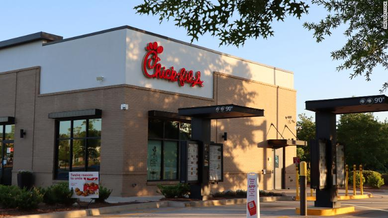 Chick-fil-A restaurants resent the lack of workers