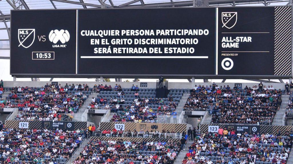 Discriminatory shout stops All Star of Liga MX against MLS