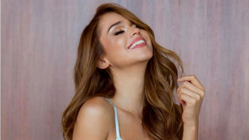 In bed: Yanet Garcia raised the network's temperature