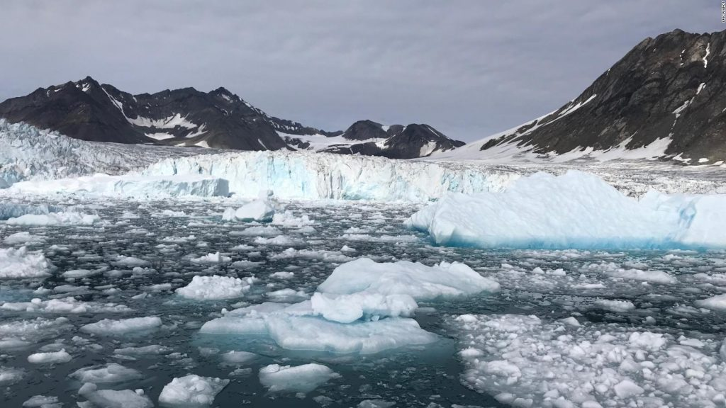 It is raining on the summit of Greenland for the first time since it was recorded