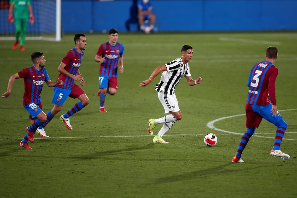 It was after Messi in Barcelona, Juventus begins with a crush in the dispute for the Joan Gamper Cup    football    Sports