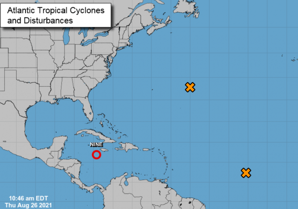 Nine tropical recessions are developing in the Caribbean and threatening the United States as a hurricane