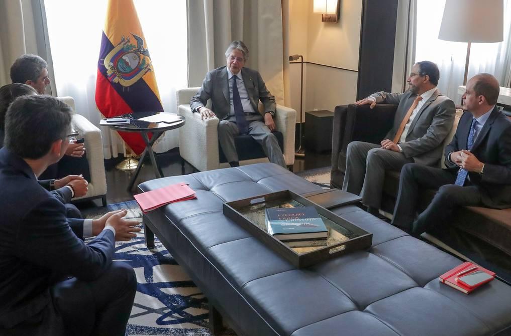 President Guillermo Laso concludes his tour in Mexico |  Politics |  News