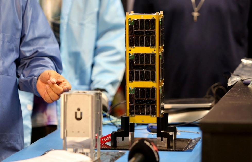 The launch of the first Puerto Rican satellite was postponed due to bad weather in Florida |  Present