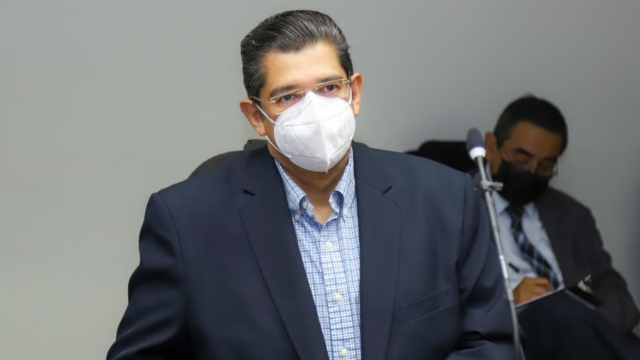 """""""The remuneration of the legal secretary is protected by law,"""" Luis Mario Rodriguez says."""