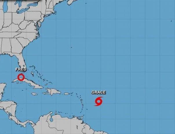 Tormenta Grace estaría bordeando el norte y noreste del país
