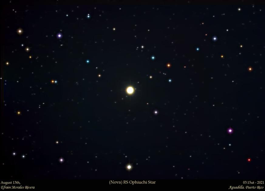 They capture from Puerto Rico the emergence of a new star    Present