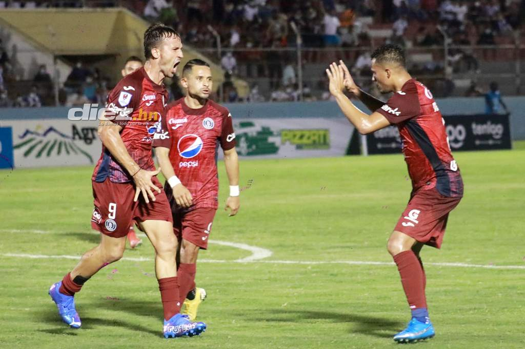 Victoria returns to the National League with a loss to Motagua;  Gonzalo Closiner Select Match - Ten