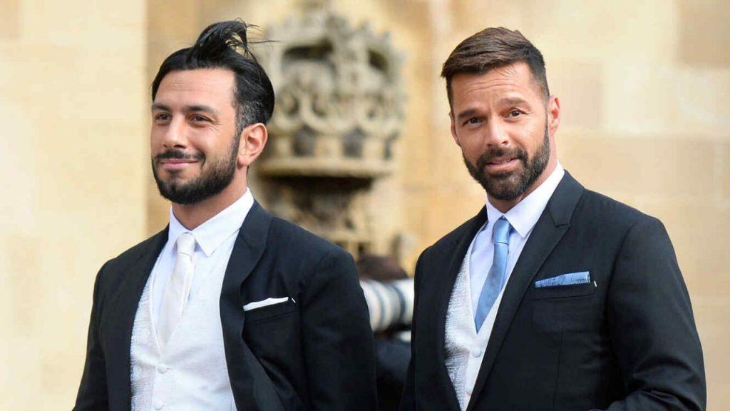 What does Ricky Martin's husband Joan Joseph do?