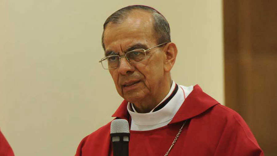 """Cardinal Rosa Chavez: """"The world accompanied us in the peace process, and now it will accompany us to save democracy"""""""