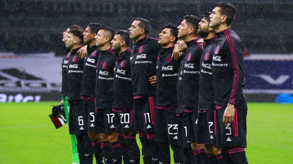 Mexico qualifiers after defeating Jamaica in the CONCACAF qualifiers