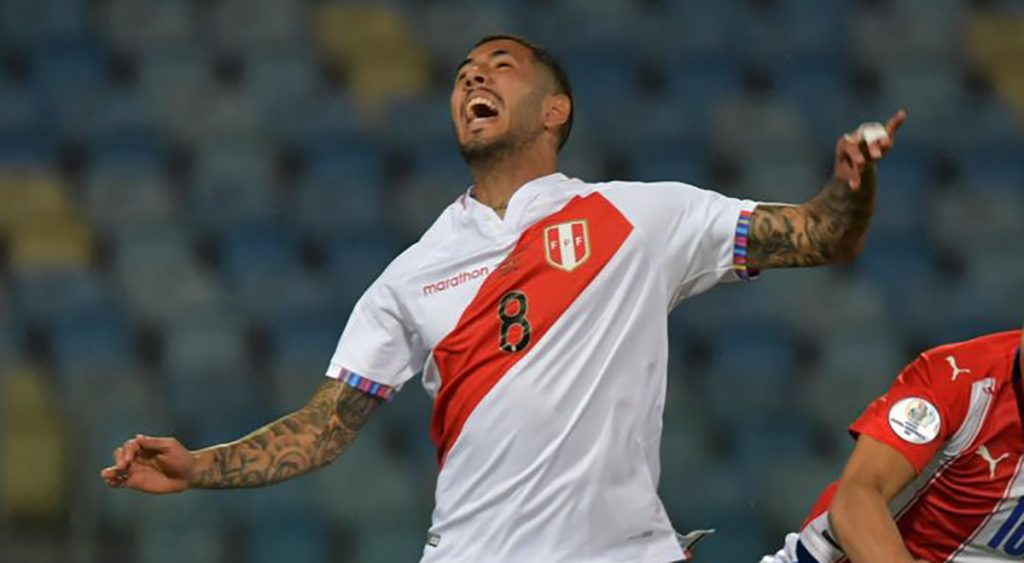 Sergio Peña has been excluded from the Peruvian national team due to injury