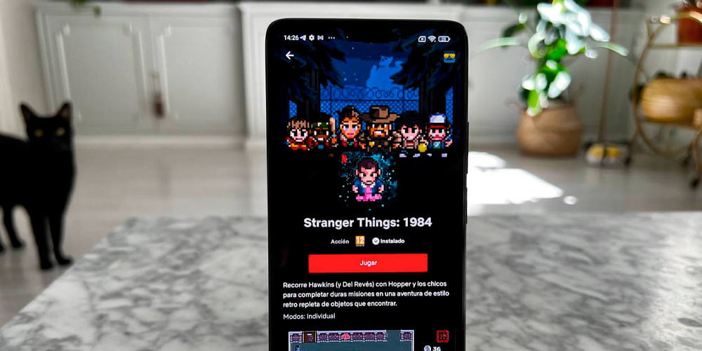 Netflix games are available, but not available on Netflix