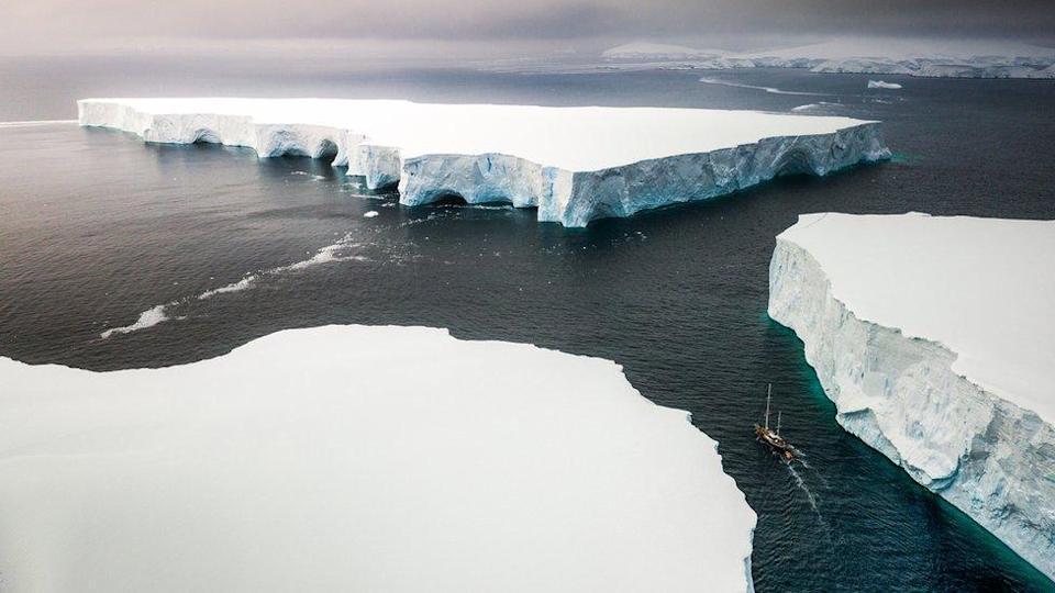 sea ice layers
