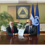 Who is the representative of Nicaragua who defended the regime in the session of the Permanent Council of the Organization of American States?