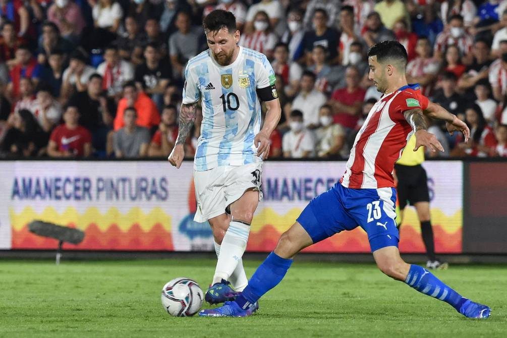Argentina, led by Lionel Messi, slows down against fierce Paraguay in Asuncion.  0-0 in the qualifiers against Qatar 2022 |  football |  Sports
