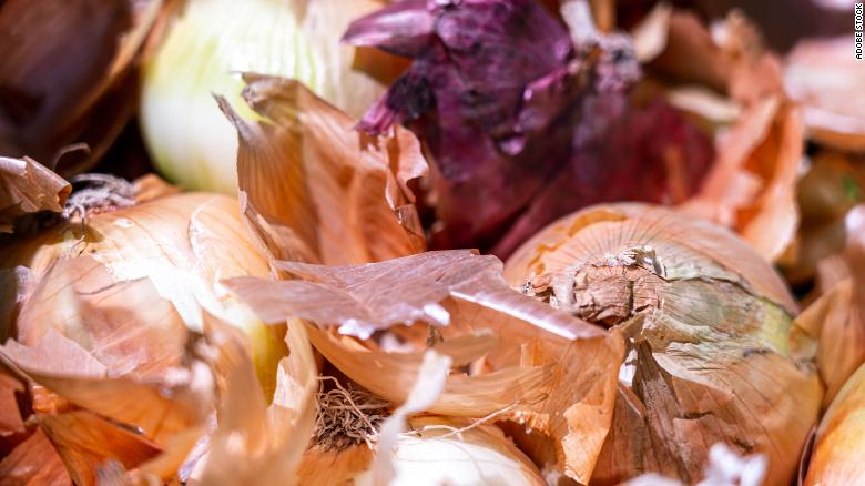 If you do not know where your onions are coming from, discard them to prevent Salmonella, says CDC