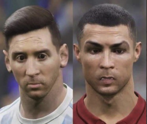 Messi and Ronaldo's monster in the worst video game ever