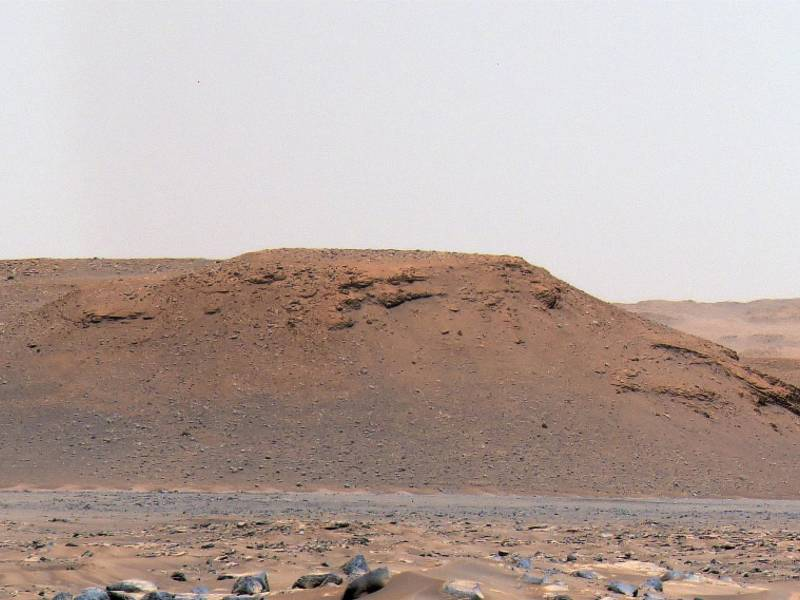 NASA mission discovers a crater on Mars where there was a lake 3.7 billion years ago