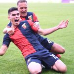 Summary of the match Genoa vs Sassuolo (2-2);  Johan Vazquez makes his debut and his goal