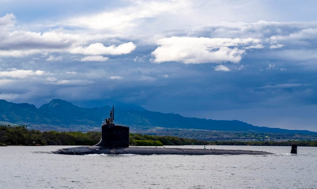 The engineer and his wife were arrested on charges of selling submarine secrets