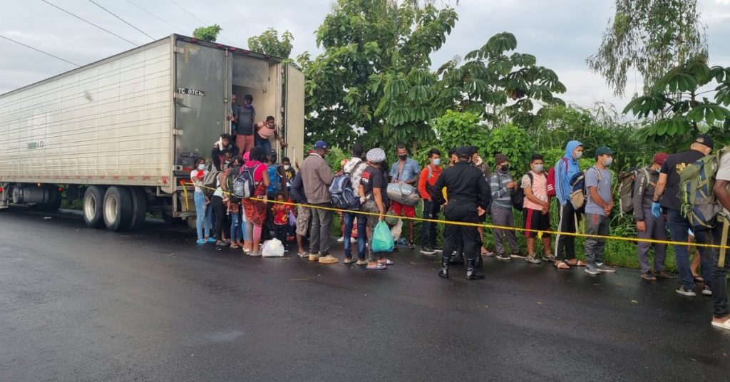 They rescued 126 Haitian migrants from an abandoned container in Guatemala