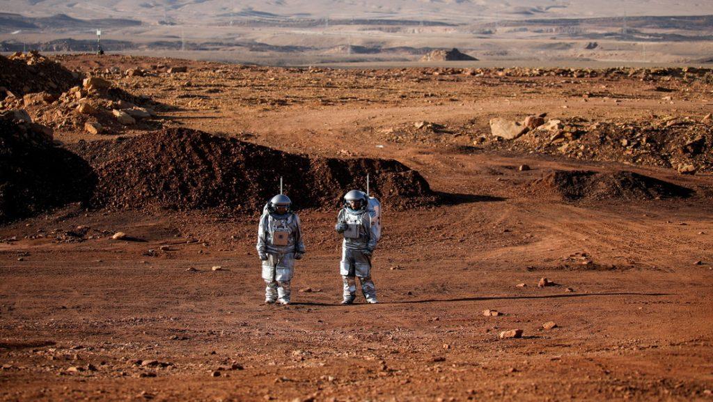 Simulan la vida en Marte en un cráter del desierto israelí del Néguev (VIDEO)